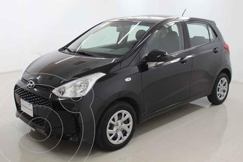 Hyundai Grand i10 GL MID usado (2020) color Negro precio $209,000