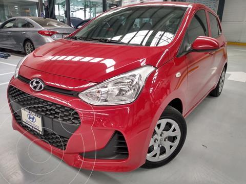 Hyundai Grand i10 GL MID Aut usado (2018) color Rojo precio $174,900