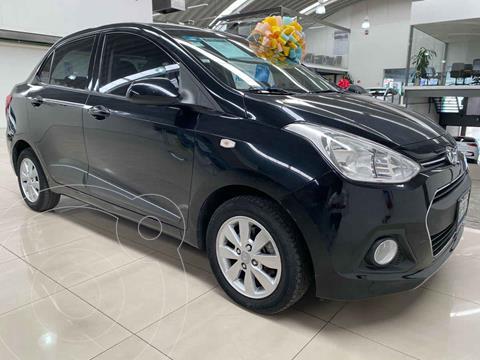 Hyundai Grand i10 GLS Aut usado (2017) color Negro precio $175,000