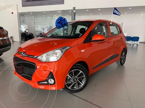 Hyundai Grand i10 GLS usado (2020) color Naranja precio $212,000