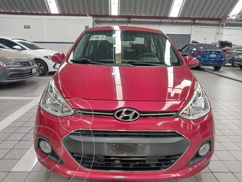Hyundai Grand i10 GLS usado (2016) color Rojo precio $135,500