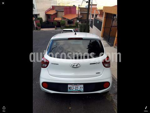 Hyundai Grand i10 GLS usado (2019) color Blanco precio $166,000