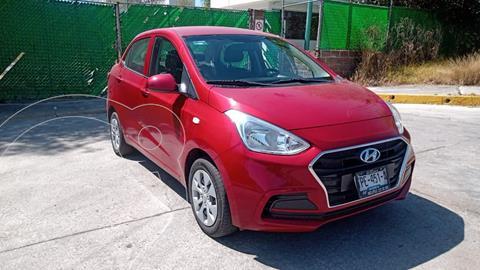 Hyundai Grand i10 GL MID Aut usado (2020) color Rojo precio $175,000