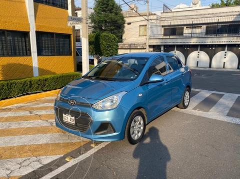 Hyundai Grand i10 GL MID usado (2015) color Azul precio $119,900
