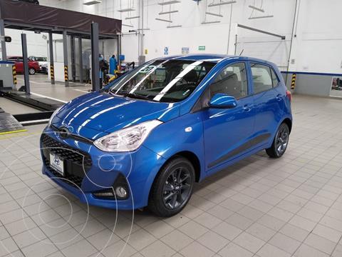 Hyundai Grand i10 GLS usado (2020) color Azul Acero precio $199,000