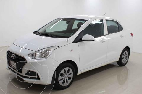 Hyundai Grand i10 GL MID Aut usado (2020) color Blanco precio $199,000