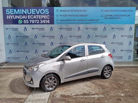Hyundai Grand i10 GLS usado (2018) color Plata Dorado precio $183,000