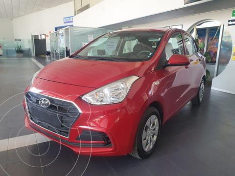 Hyundai Grand i10 GL MID Aut usado (2020) color Rojo precio $188,000