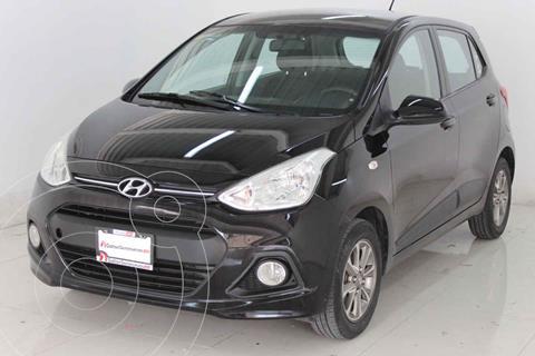 Hyundai Grand i10 Version usado (2015) color Negro precio $159,000