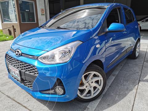 Hyundai Grand i10 GLS usado (2019) color Azul precio $197,000