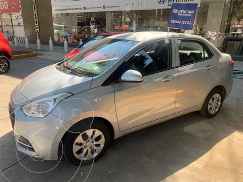 Hyundai Grand i10 GL MID Aut usado (2020) color Plata Dorado precio $185,000