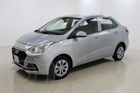 Hyundai Grand i10 GL MID Aut usado (2020) color Plata precio $198,000