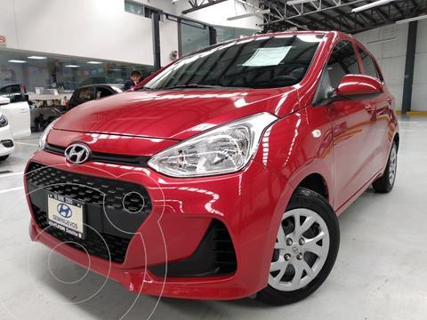 Hyundai Grand i10 GL MID usado (2020) color Rojo precio $195,000