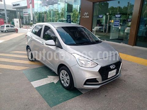 Hyundai Grand i10 GL MID Aut usado (2018) color Plata precio $175,000