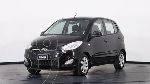 Hyundai i10 GLS Aut usado (2014) color Negro precio $1.250.000