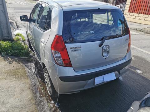 Hyundai i10 1.1 GLS  usado (2010) color Plata precio $4.350.000