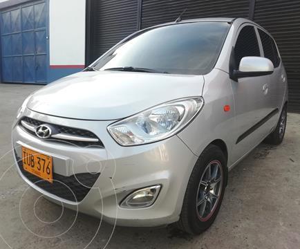 Hyundai i10 1.1 D.H. usado (2013) color Plata precio $22.300.000