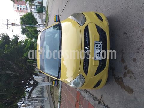 Hyundai i10 1.1 usado (2013) color Naranja precio $26.000.000