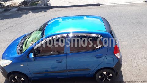 Hyundai i10 1.1 usado (2009) color Azul precio u$s8.500
