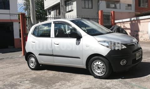 Hyundai i10 1.2 Ac  usado (2009) color Plata precio u$s7.000