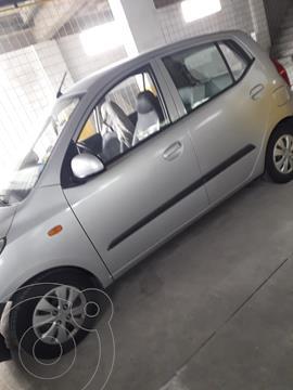 Hyundai i10 1.1 usado (2013) color Plata precio u$s8.600