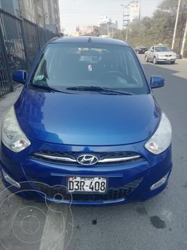 Hyundai i10 GL 1.1L Full usado (2012) color Azul precio u$s5,500