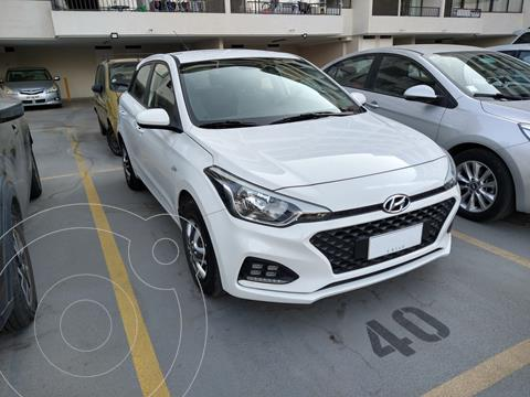 Hyundai i20 1.4L Plus  usado (2019) color Blanco precio $11.000.000
