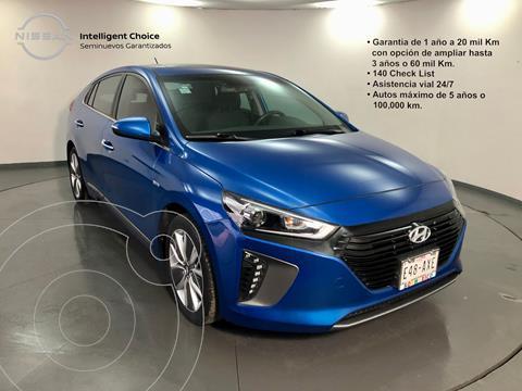 Hyundai Ioniq Limited usado (2018) color Azul precio $350,000