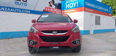 Hyundai ix 35 GLS Aut usado (2015) color Rojo precio $245,000