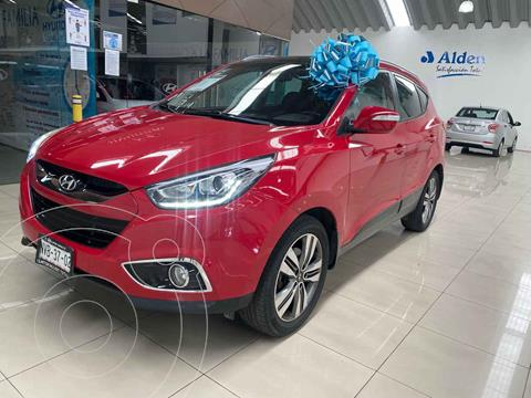 Hyundai ix 35 Limited Aut usado (2015) color Rojo precio $240,000