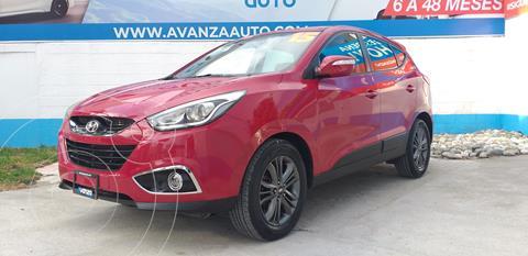 Hyundai ix 35 GLS Aut usado (2015) color Rojo financiado en mensualidades(enganche $81,560 mensualidades desde $8,896)