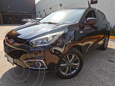Hyundai ix 35 GLS usado (2015) color Negro financiado en mensualidades(enganche $57,000 mensualidades desde $6,619)