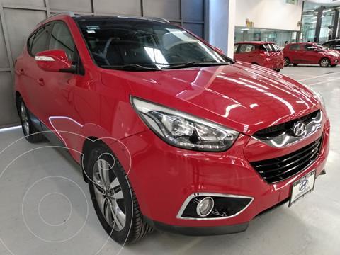 Hyundai ix 35 Limited Aut usado (2015) color Rojo precio $220,000