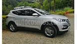 Hyundai Santa Fe 2.4 4x2 7 Pas. usado (2016) color Gris precio $75.000.000