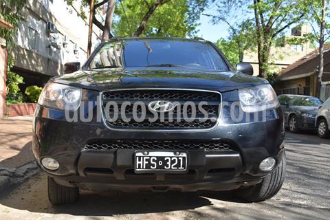 Hyundai Santa Fe 2.2 GLS CRDi 5 Pas Full Premium usado (2008) color Negro precio $980.000