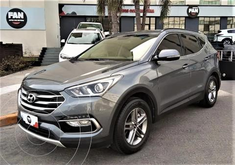 Hyundai Santa Fe 2.4 Seguridad 7as 6at 2wd usado (2017) color Gris precio u$s32.500