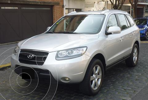 Hyundai Santa Fe 2.2 GLS CRDi 7 Pas Full usado (2010) color Plata precio $2.450.000