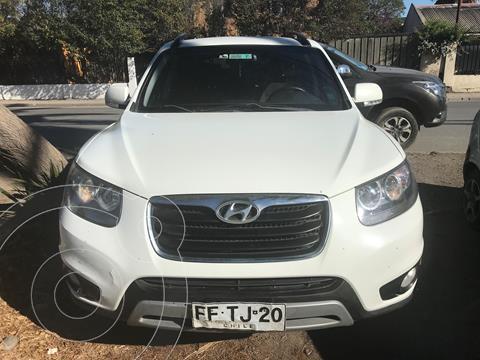 Hyundai Santa Fe 2.4 GLS 4x2 Full Aut usado (2013) color Blanco precio $12.500.000