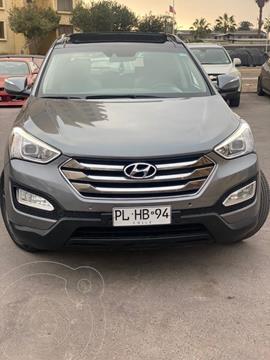 Hyundai Santa Fe 2.2 GLS CRDi 4x2 Aut usado (2014) color Gris precio $10.450.000