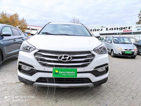 Hyundai Santa Fe 2.2 GLS CRDi 4x2 Aut usado (2018) color Blanco precio $23.100.000