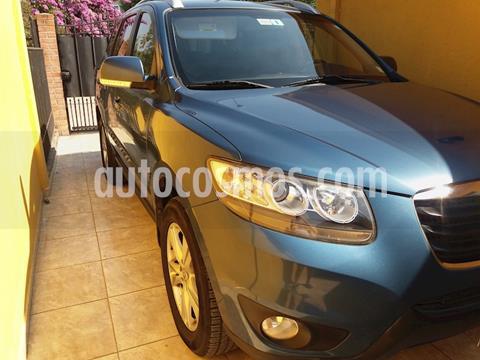 foto Hyundai Santa Fe 2.4 GLS 4x2 usado (2012) color Azul precio $9.000.000