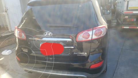 Hyundai Santa Fe 2.2 GLS CRDi 4x4 Aut usado (2012) color Negro precio $12.500.000