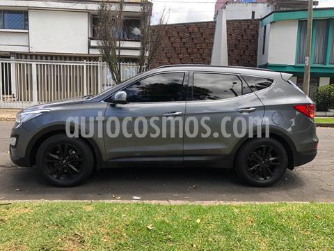 Hyundai Santa Fe 2.4 4x4 Aut. 7 Pas. usado (2016) color Gris precio $78.000.000