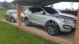 Hyundai Santa Fe 2.4 4x2  usado (2014) color Plata precio $49.000.000