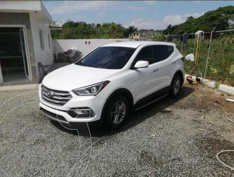 Hyundai Santa Fe 2.4L Premium 4x4 Aut  usado (2018) color Blanco precio $75.000.000