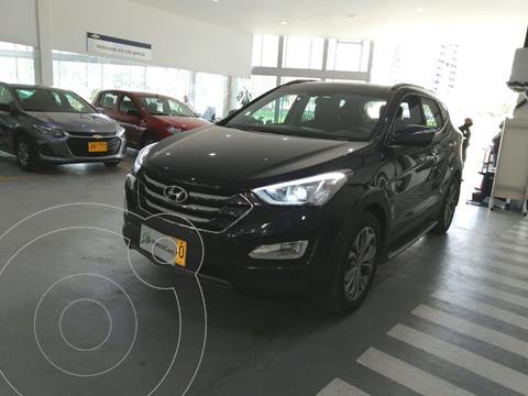 Hyundai Santa Fe 3.3 4x4 Aut  usado (2014) color Azul Oceano precio $69.990.000