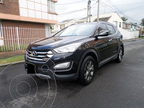 Hyundai Santa Fe 7 Pas 2.4 4x4 Aut    usado (2013) color Negro precio u$s17.000