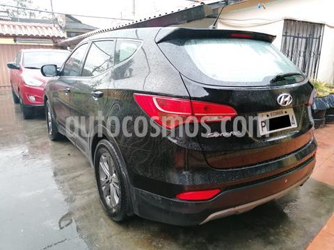 Hyundai Santa Fe 5 Pas 2.4 4x2 Aut  usado (2013) color Negro precio u$s24.200