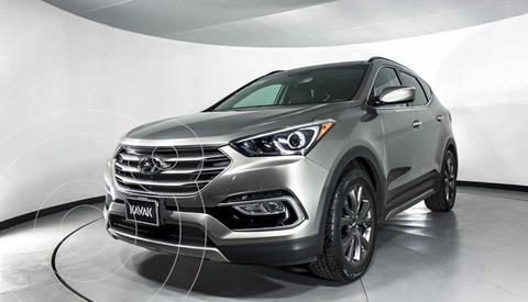 Hyundai Santa Fe Sport 2.0L Turbo usado (2018) color Gris precio $387,999