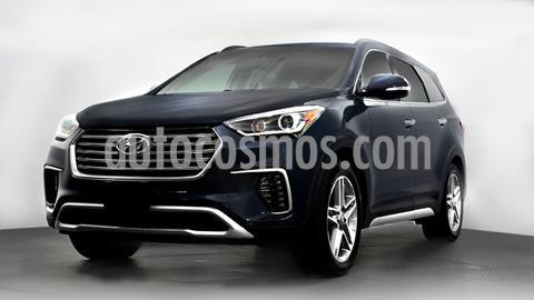 Hyundai Santa Fe V6 Limited Tech usado (2018) color Azul precio $420,000